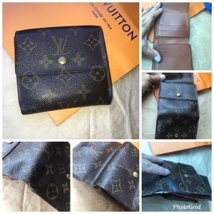 💯% Authentic Louis Vuitton Monogram Bifold Wallet
